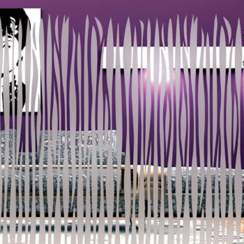 Raamfolie design decor DD 030 Afrika - folie motief