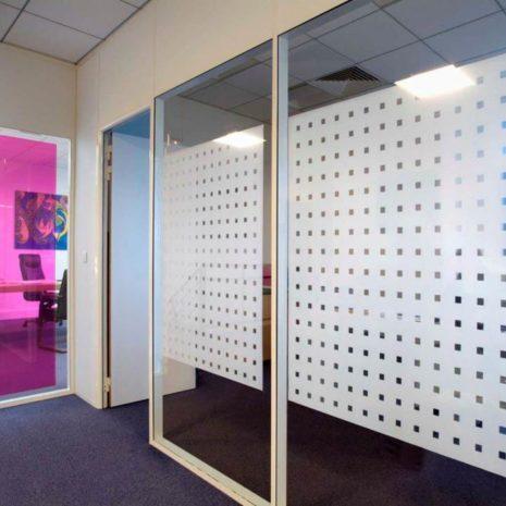 Raamfolie design decor DD 020 Stans - folie blokjes