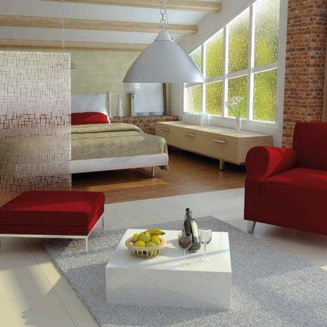 Raamfolie design decor DD 022 Sterren - folie kruisen