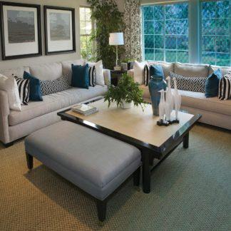Raamfolie design decor DD 035 Blauw -glas in lood