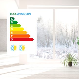 eco window isolatie raamfolie high
